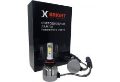 Светодиодная Лампа X-BRIGHT C9+3 WF HB3 (9005) 5000 K. 12V Световой поток 1300Lm (Комп. 2 шт.)