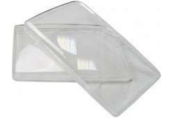 Гладкие стекла фар Audi 100/45 90-94Г (пара)