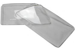 Гладкие стекла фар Audi А6 С4 (пара)