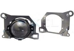 Переходная рамка Infiniti FX 35-FX 50 I модуль DIXEL MINI BI-LED 3.0 (Кт, 2 шт)