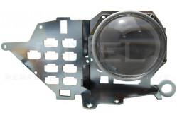 Переходная рамка Infiniti Q50 2013 - 2017 г. в. (LED) Модуль Hella 3/3R/5R (Комплект-2 шт.)