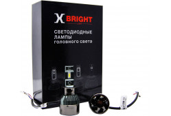 Светодиодная Лампа X-BRIGHT V3-ETI H3 5000 K. 12V Световой поток 2050Lm (Комп. 2 шт.)