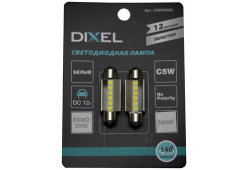 Светодиодная лампа DIXEL C5W 6 SMD (3030) 39 MM Белый 12VDC
