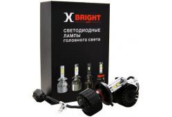 Светодиодная Лампа X-BRIGHT S2 CSP H4 Hi/Lo 5000 K. 12V Световой поток 2000/2300 Lm (Комп. 2 шт.)
