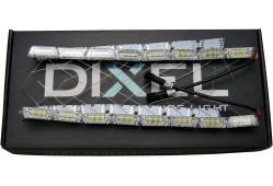 ДХО DIXEL Внутренний S12 Almaz Meteor Кристал 2  режима ДХО+поворотник (Белый/Желтый) 12V