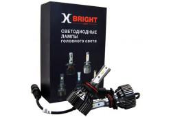 Светодиодная Лампа X-BRIGHT S3 CSP 9012 (HIR2) 5000 K. 12V Световой поток 2500Lm (Комп. 2 шт.)