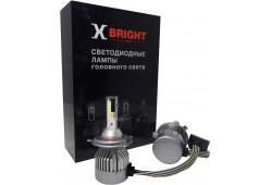 Светодиодная Лампа X-BRIGHT C9+3 WF H4 Hi/Lo 5000 K. 12V Световой поток 1300/1600Lm (Комп. 2 шт.)