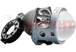 Би-линза X-B 5R Blue lens glass с крепежным кольцом под D1/D2/D3/D4
