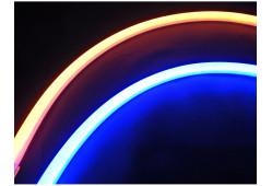 DXL Flexible гибкие светодиодные ленты - 45 СМ. Синий/Жёлтый 16W