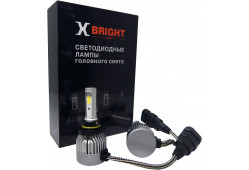 Светодиодная Лампа X-BRIGHT C9+3 WF HB4 (9006) 5000 K. 12V Световой поток 1300Lm (Комп. 2 шт.)