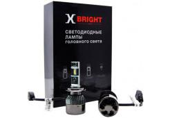 Светодиодная Лампа X-BRIGHT V3-ETI H7 5000 K. 12V Световой поток 2050Lm (Комп. 2 шт.)