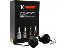 Светодиодная Лампа X-BRIGHT S2 CSP H3 5000 K. 12V Световой поток 2000Lm (Комп. 2 шт.)