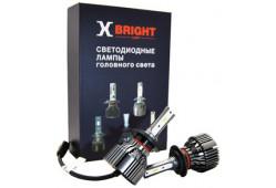 Светодиодная Лампа X-BRIGHT S3 CSP H7 5000 K. 12V Световой поток 2500Lm (Комп. 2 шт.)