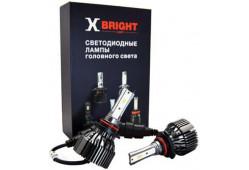 Светодиодная Лампа X-BRIGHT S3 CSP HB3 (9005) 5000 K. 12V Световой поток 2500Lm (Комп. 2 шт.)