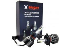 Светодиодная Лампа X-BRIGHT S3 CSP H4 Hi/Low 5000 K. 12V Световой поток 2500Lm (Комп. 2 шт.)