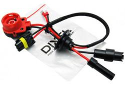 Переходник D2S/R  - MTF (Красн.игн) 4-Контакта с проводом питания блока розжига + уплотнитель