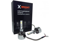 Светодиодная Лампа X-BRIGHT C8 Seoul H1 5000 K. 12V Световой поток 2500Lm (Комп. 2 шт.)