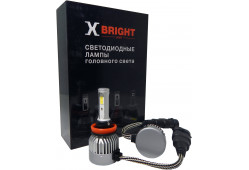 Светодиодная Лампа X-BRIGHT C9+3 WF H11 5000 K. 12V Световой поток 1300Lm (Комп. 2 шт.)