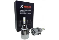 Светодиодная Лампа X-BRIGHT Seoul H15 5000 K. CAN-BUS 12V Световой поток 3000Lm (Комп. 2 шт.)