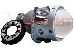 Би-линза X-B 5R с крепежным кольцом под D1/D2/D3/D4 (стекло с шагренью)