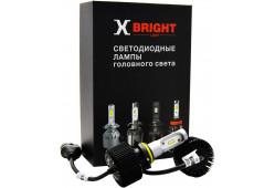 Светодиодная Лампа X-BRIGHT S2 CSP HB3 (9005) 5000 K. 12V Световой поток 2000Lm (Комп. 2 шт.)