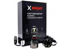 Светодиодная Лампа X-BRIGHT V3-ETI HB3 (9005) 5000 K. 12V Световой поток 2050Lm (Комп. 2 шт.)